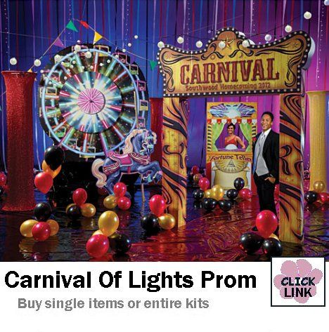 Starts at $629.99 for entire prom decorating kit