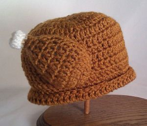 Thanksgiving Turkey Hat [ Free Crochet Pattern ] @Camilee Nelson there is no reason not too...this is a free pattern for it!