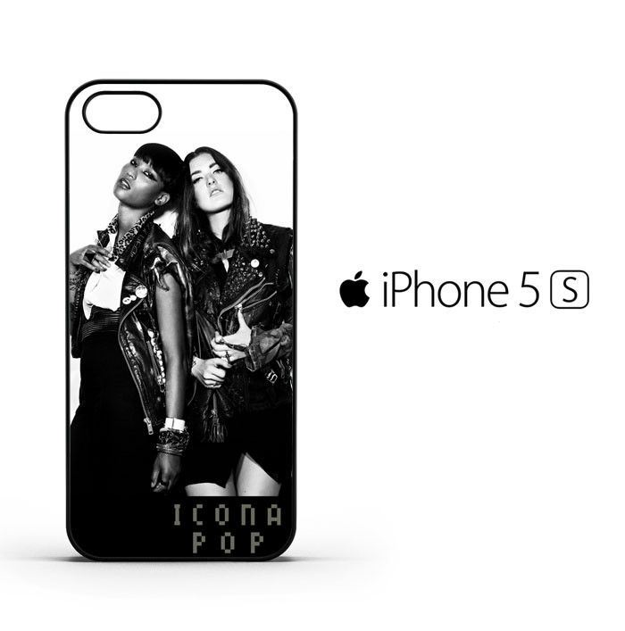 icona pop black and white R138 iPhone 5 | 5S | SE Case