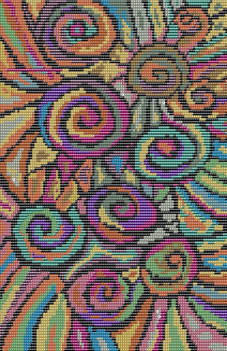 A Word From Claudia: Next Mirrix Free Bead Pattern
