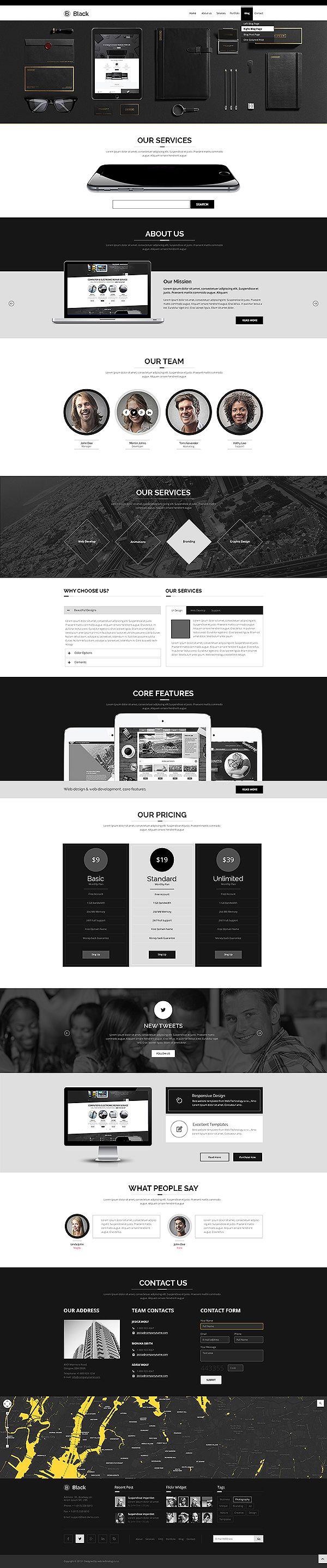 11 besten Bootstrap themes Bilder auf Pinterest | Vorlagen ...
