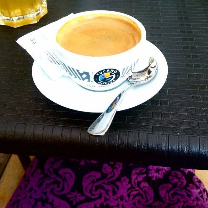 Some mornings call for a double espresso :p. Good morning travellers and have an amazing day!