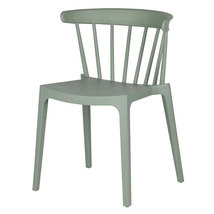 De Bliss stoel van Woood doet denken aan de bekende houten spijlenstoel. Maar let op: deze stoel is niet van hout, maar volledig gemaakt van stevig kunststof. Natuurlijk zijn de kenmerkende spijlen behouden! Een modern ontwerp met een retro look.