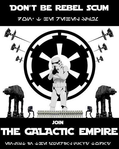 Star Wars Propaganda Poster.