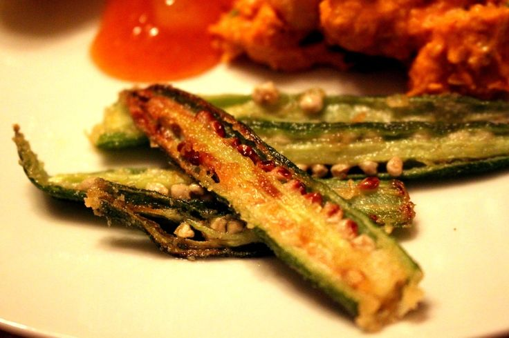Fried Okras, so easy and delicious!