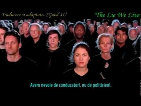 DOCUMENTAR INCENDIAR - Minciuna in care traim -The Lie We Live