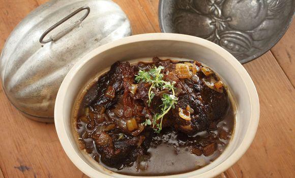 Slow-Braised Beef Cheeks in Barossa Shiraz