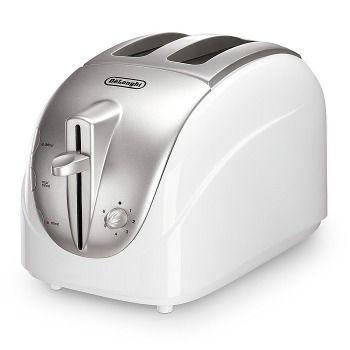 Toaster pentru doua felii DeLonghi CKT 2003 White