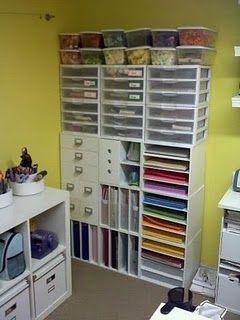 Paper/Scrapbook storage