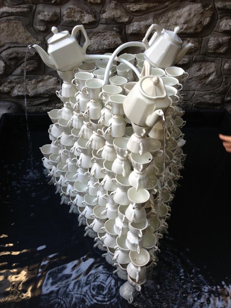 Tea fountain by Jonghlabel @ Dutch Consulate Istiklal for SALON /istanbul