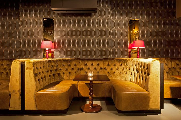 Booth Seating at Dirty Martini - Mayfair, London | Fitz Impressions