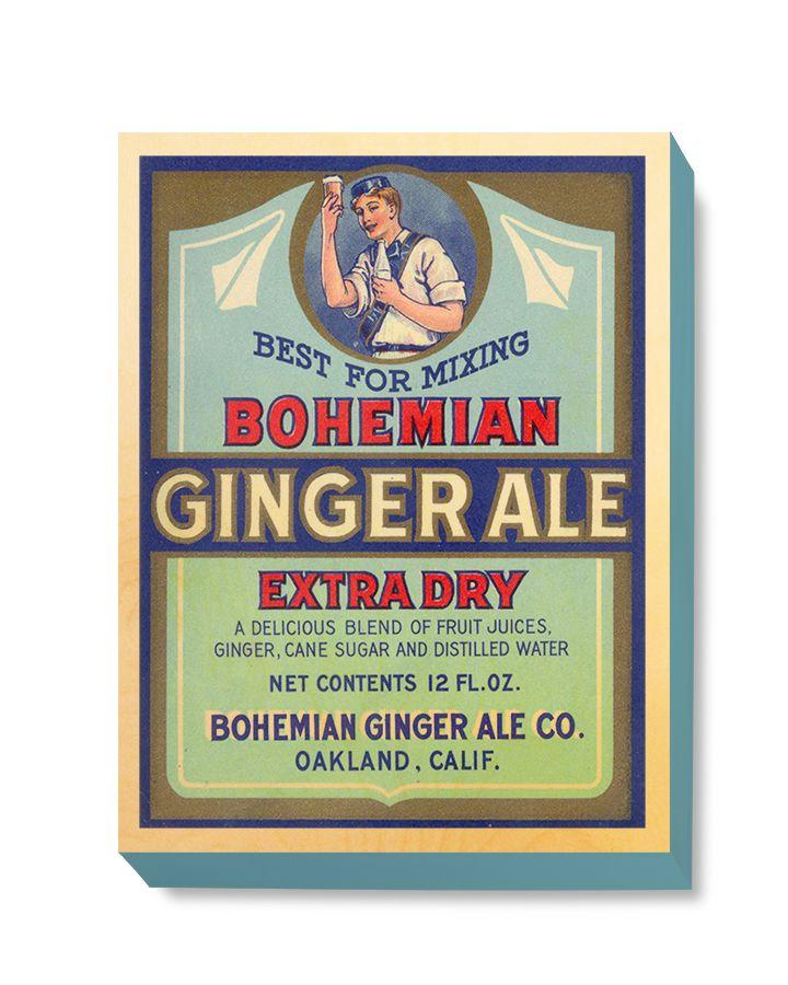 ADV 105 Advertising Art Bohemian Ginger Ale