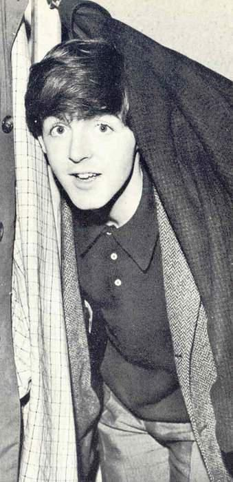 Paul McCartney. I can't express how much I love this picture.