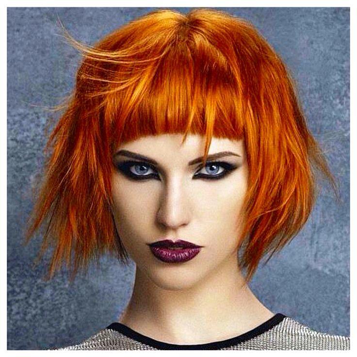 156 besten Peach or Orange Hair Bilder auf Pinterest