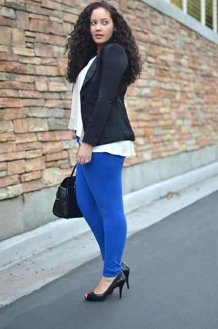 i love coloured jeans (and i love girl with curves)