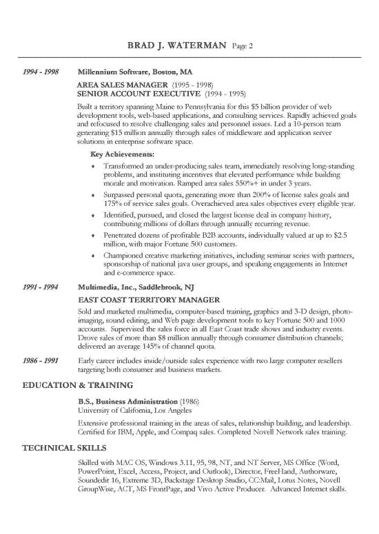 Chronological Resume Template         Free Samples  Examples  Format     Brefash