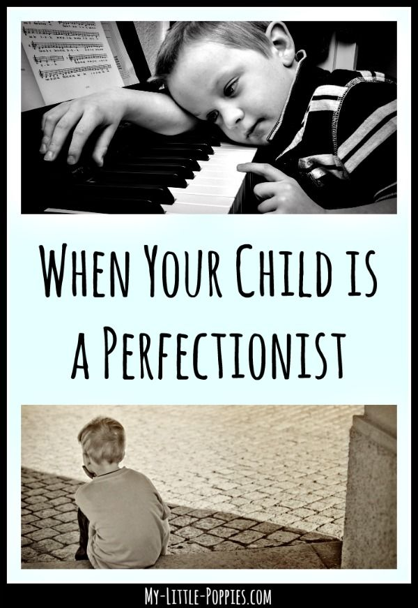 When Your Child is a Perfectionist | My Little Poppies  Here are some books, resources, and strategies for parents of kids who struggle with perfectionism.