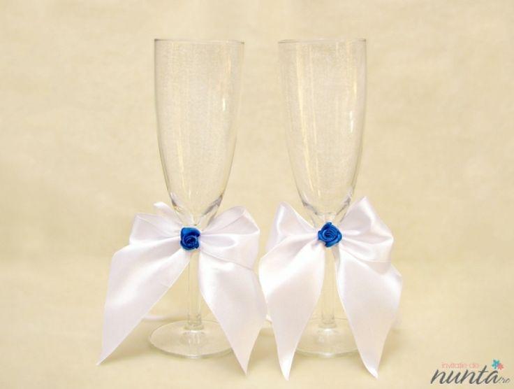 Set pahare miri Blue Rose