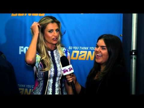 ERIN ANDREWS SO YOU THINK YOU CAN DANCE INTERVIEW JULY 9! SYTYCD ERIN ANDREWS