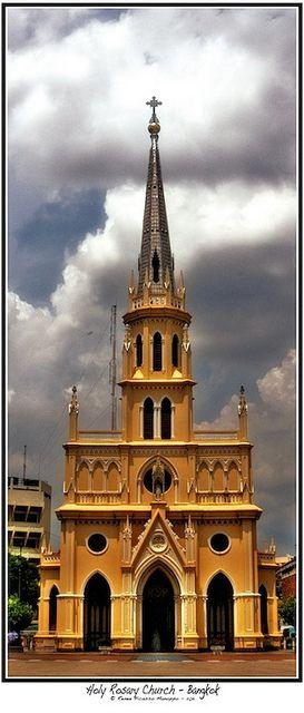 Holy Rosary Church Bangkok, Thailand.