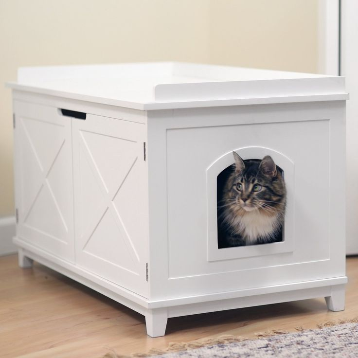 17 best ideas about cat boxes on pinterest litter box hide litter boxes and cat box furniture. Black Bedroom Furniture Sets. Home Design Ideas