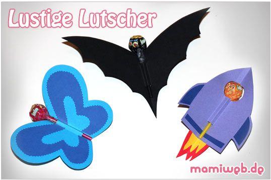 Mamiweb.de - Kindergeburtstag: Lollis lustig verpacken