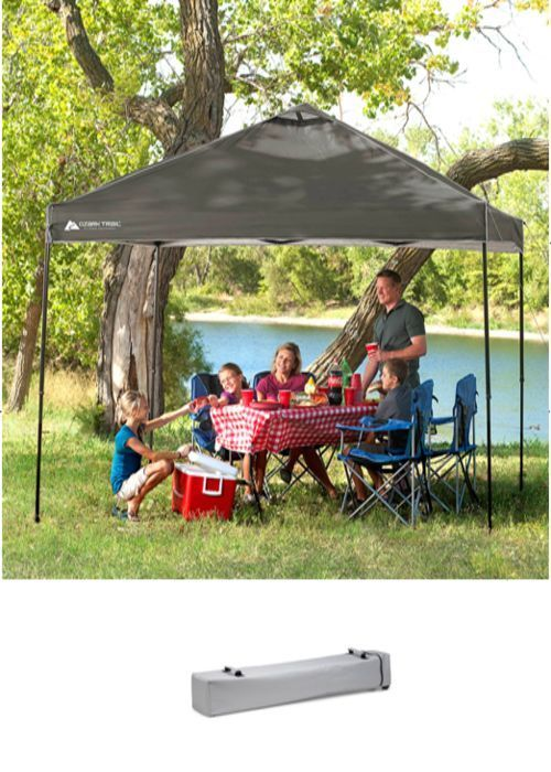 Instant Polyester Canopy Outdoor BBQ Garden Tent Camping Gazebo  Party Shelter #InstantPolyesterCanopy