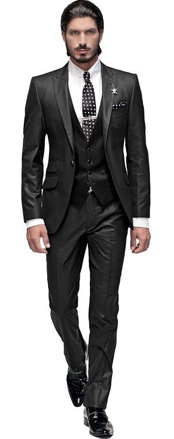 25  best ideas about Black suit combinations on Pinterest | Mens ...