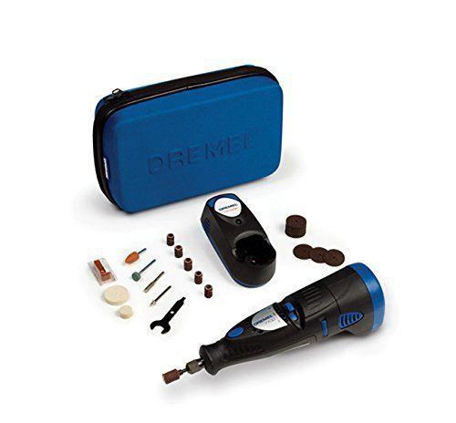 Dremel 7700-30 Outil rotatif multi-usage sans fil Nicd (7,2V) 1 sac et 30 accessoires: Price:50.08 DREMEL 7700JA PERCEUSE SANS FIL 7V2…