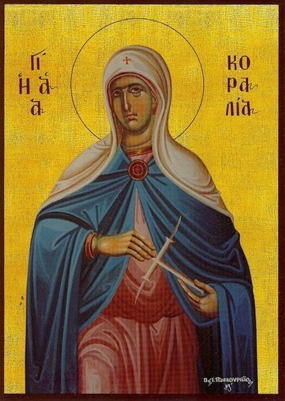 St. Koralia / St. Coralia - September 1st