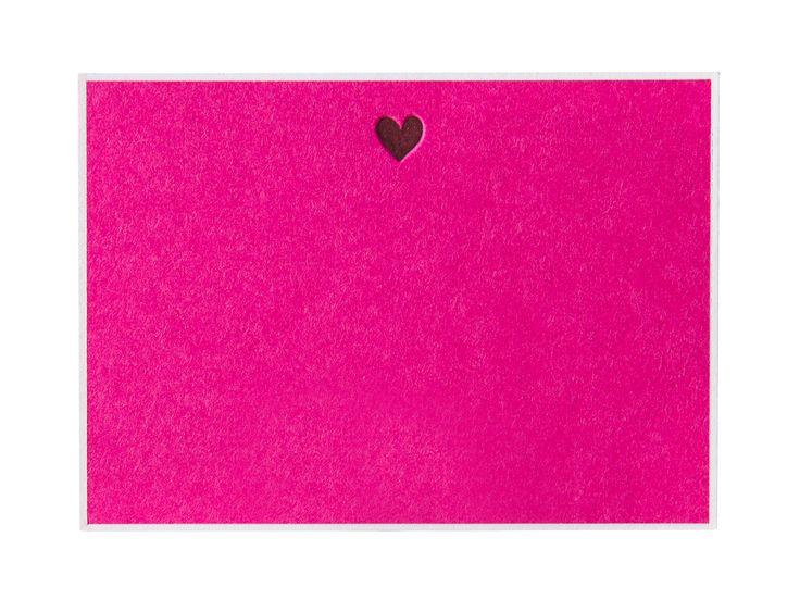 Pickett's Press | Heart Correspondence Cards | AHAlife