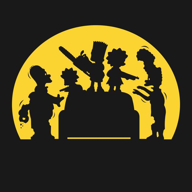 DOH! ZOMBIES! T-Shirt $10 Simpsons Zombie tee at ShirtPunch today only!