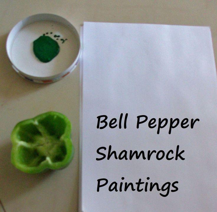 bell-pepper-shamrock-paintings-1024x999-1: Kids Preschool, Fun Activities, Activities For Kids, Belle Peppers, Kids Activities, Kids Crafts, Holidays Ideas, Green Peppers, Shamrock Paintings