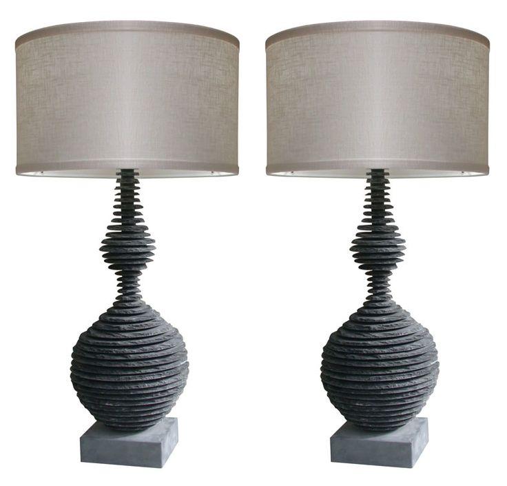 slate lamp - Google Search