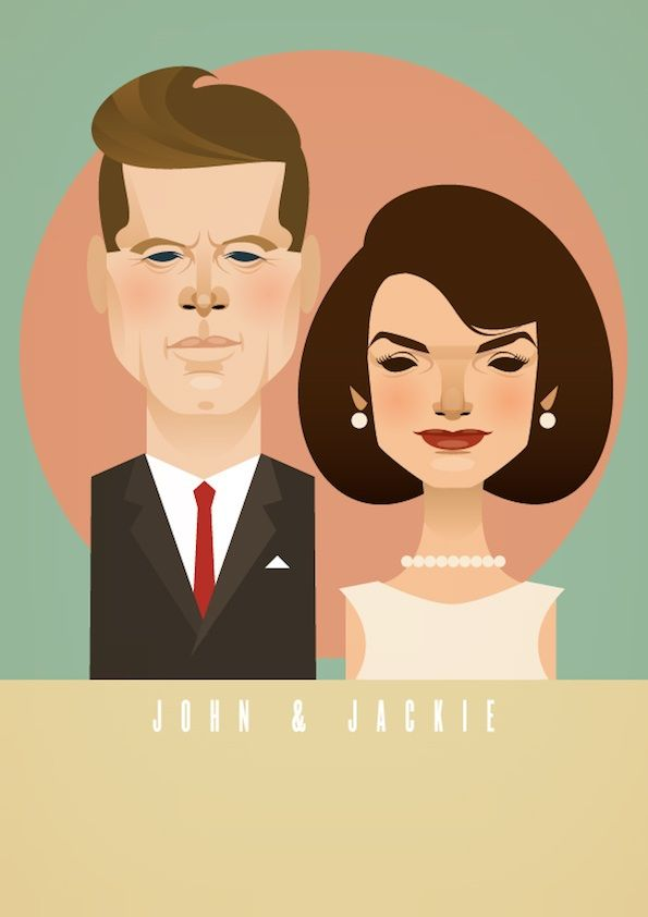 @aspiringkennedy needs this. :)Jackie Kennedy, Camelot And, The Artists, John F Kennedy, Illustration, Graphics Design, The Kennedy, Stanley Chow, Celebrities Caricatures