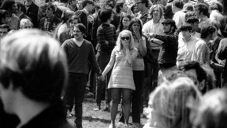 On April 30, 1970, President Richard Nixon shocked the nation by announcing the U.S. invasion of Cambodia. At college campuses across the country, masses of students took to the streets in protest. Five days later, four Kent State students would be shot dead by National Guardsmen. The mayhem that followed has been called the most divisive moment in American history since the Civil War.