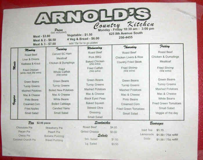 Arnold S Country Kitchen Diners Drive Ins And Dives