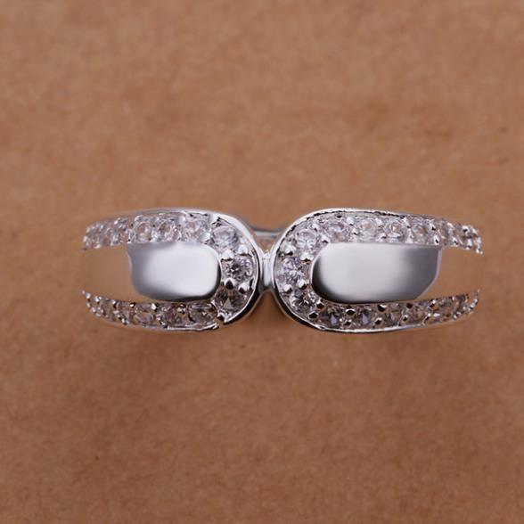 Кольца посеребренная ювелирных изделий кольца 925 мычка изысканный современные женщины мода симпатичный кольцо dfas LSR230