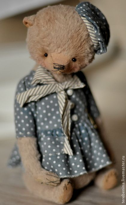 Мишки Тедди ручной работы. Ярмарка Мастеров - ручная работа. Купить Мишка Николь. Handmade. Бежевый, морской стиль, тедди