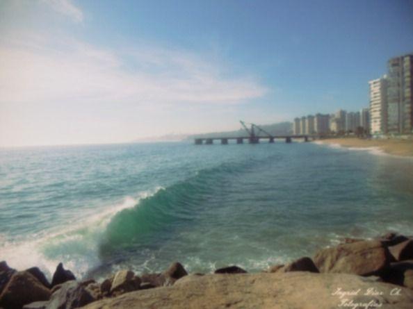 Playa Acapulco, Muelle Vergara, Viña del Mar.