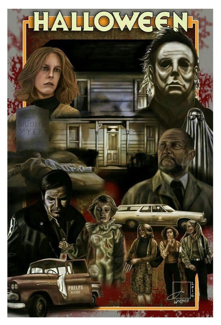 Horror movie art image by Kev on Horror Movies in 2020