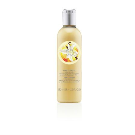 The Body Shop Limited Edition Vanilla Brulee Shower Gel