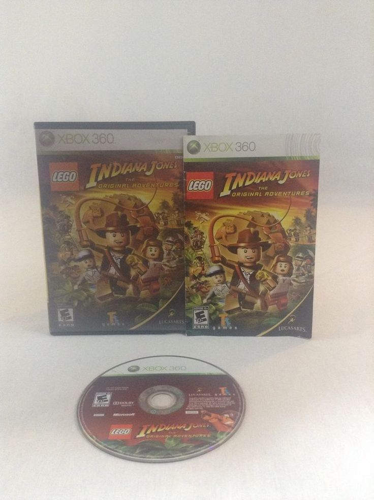 2008 Tested & Working Xbox 360 Lego Indiana Jones Original Adventure Video Game #Xbox360