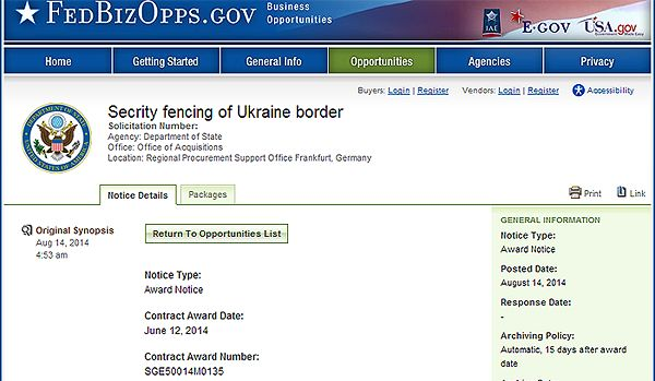 America Buying a Border Fence for Ukraine, But DHS Says Border Fences Don't Work
