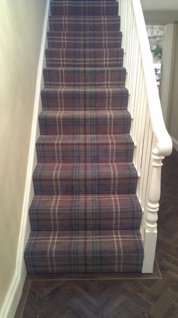 Our Glenmoy range fitted on stairs by Philip Thursby Carpets, Sunderland.  http://ulstercarpets.com/residential/choosing-your-carpet/search-by-range/glenmoy#range-glenmoy