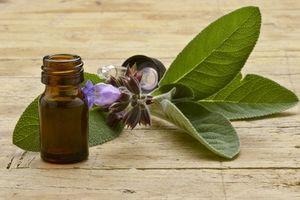 L'huile essentielle de sauge sclarée pour atténuer les bouffées de chaleur