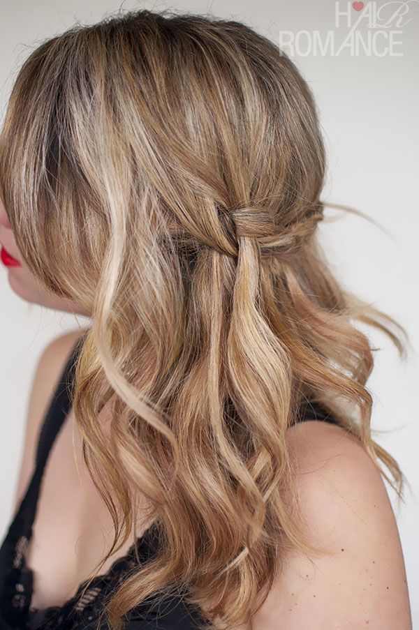 Hair Romance - Waterfall Plait - braid