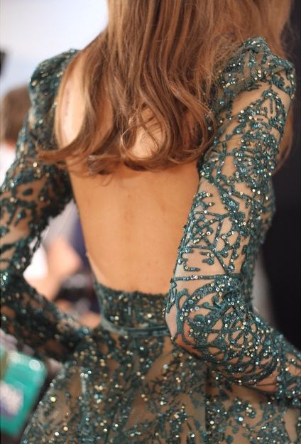 Unveiling your Back is the New Sexy #glamourous #gown