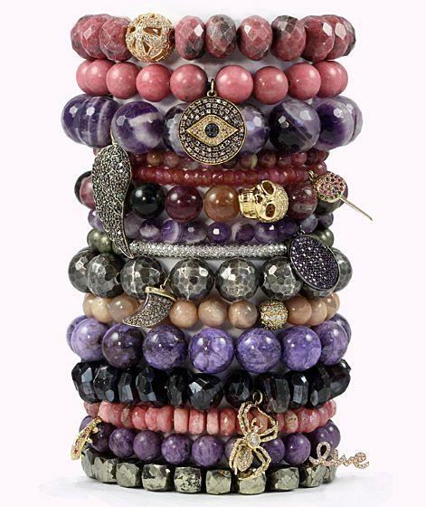Sydney Evan beaded bracelets, from $730