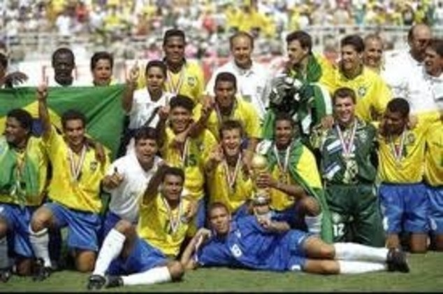 This Day In Soccer History: July 17, 1994 - Brazil beats Italy in a shoot out, for their 4th soccer world cup  keepinitrealsports.tumblr.com  keepinitrealsports.wordpress.com  facebook.com/pages/KeepinitRealSports/250933458354216  Mobile- m.keepinitrealsports.com